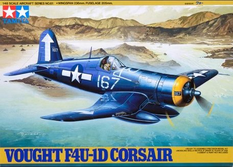 Tamiya Vought F4U-1D Corsair 1:48
