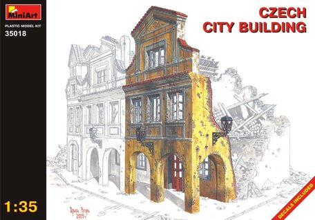 MiniArt Czech City Building 1:35