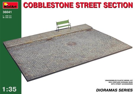MiniArt Cobblestone Street Section 1:35
