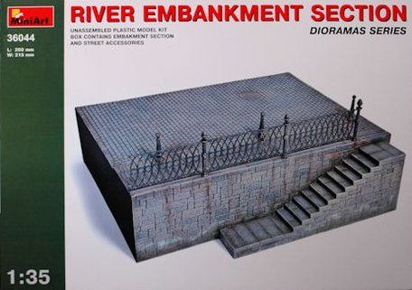MiniArt River Embankment Section 1:35