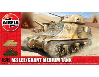 Airfix M3 Lee / Grant Medium Tank 1:76