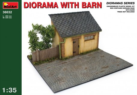 MiniArt Diorama with Barn 1:35
