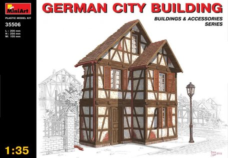 MiniArt German City Building 1:35