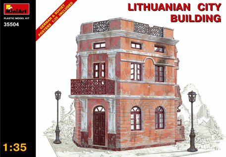 MiniArt Lithuanian City Building 1:35