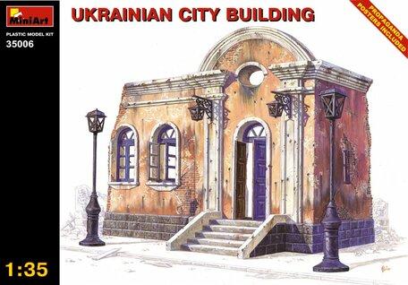 MiniArt Ukrainian City Building 1:35