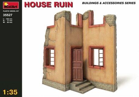 MiniArt House Ruin 1:35