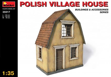 MiniArt Polish Village House 1:35