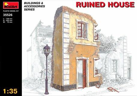 MiniArt Ruined House 1:35
