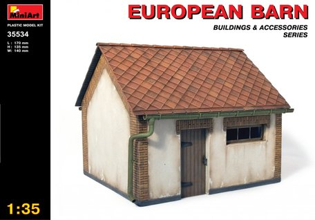 MiniArt European Barn 1:35
