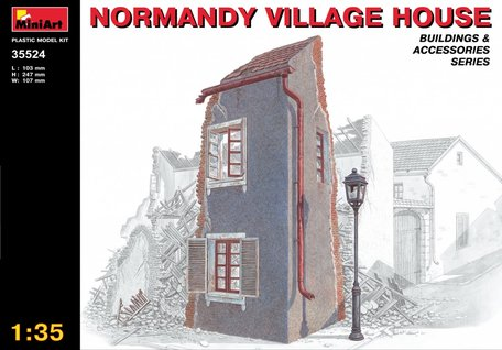 MiniArt Normandy Village House 1:35