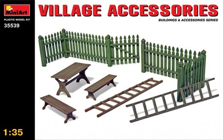MiniArt Village Accessories 1:35