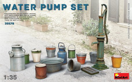 MiniArt Water Pump Set 1:35