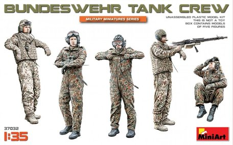 MiniArt Bundeswehr Tank Crew 1:35