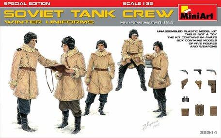 MiniArt Soviet Tank Crew Winter Uniforms 1:35