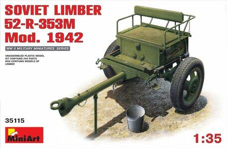 MiniArt Soviet Limber 52-R-353M Mod. 1942 1:35