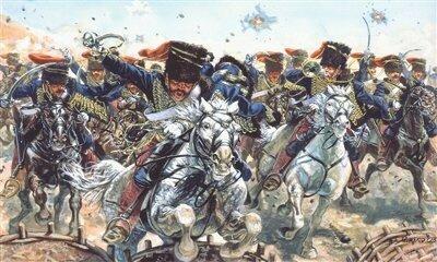 Italeri British Hussars 1:72