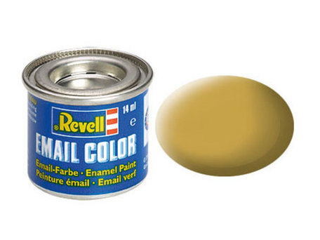 Revell 016: Sandy Yellow Mat