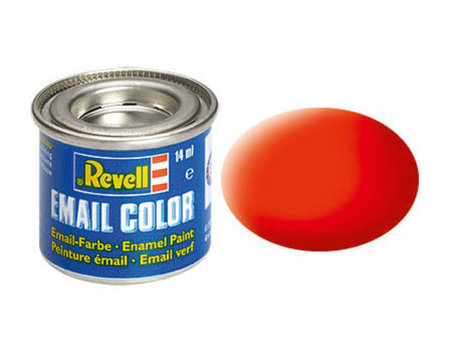 Revell 025: Luminous Orange Mat