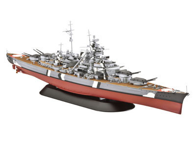 Revell Bismarck 1:700