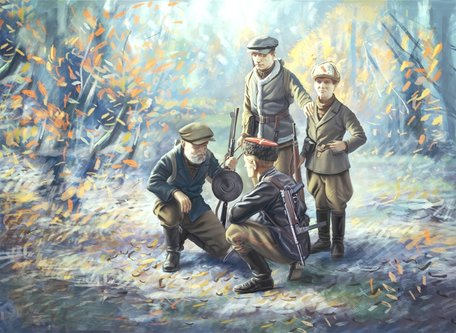 ICM WWII Soviet Partisans 1:35