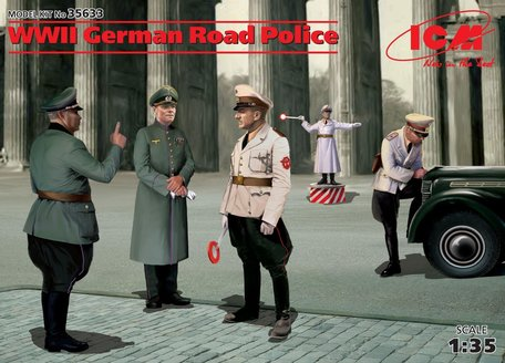 ICM WWII German Road Police 1:35