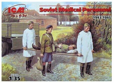 ICM Soviet Medical Personnel 1:35