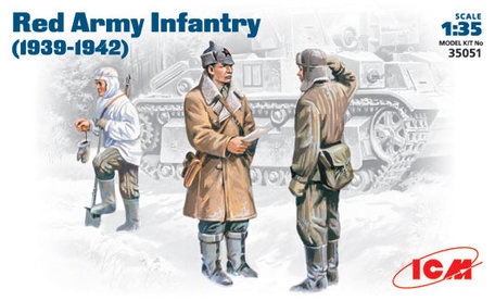 ICM Red Army Infantry 1:35