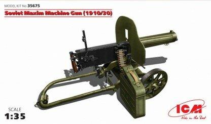 ICM Soviet Maxim Machine Gun 1:35