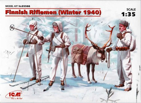 ICM Finnish Riflemen (Winter 1940) 1:35