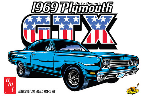AMT 1969 Dirty Donny's Plymouth GTX 1:25