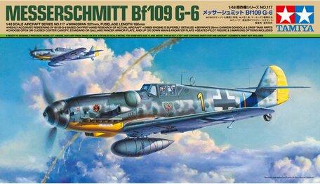 Tamiya Messerschmitt Bf109 G-6 1:48
