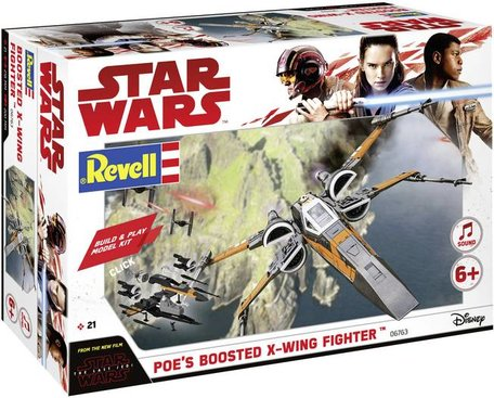 Revell Star Wars Poe's Boosted X-Wing Fighter