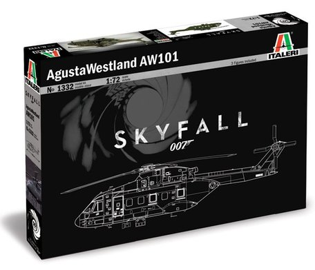 Italeri AgustaWestland AW - 101 ''SKYFALL'' 007 1:72
