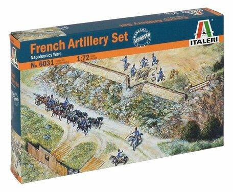 Italeri French Artillery Set 1:72