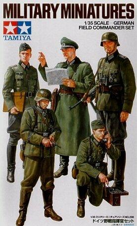 Tamiya German Field Commander Set 1:35