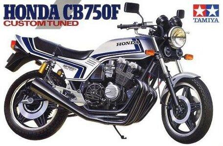 Tamiya Honda CB750F Custom Tuned 1:12