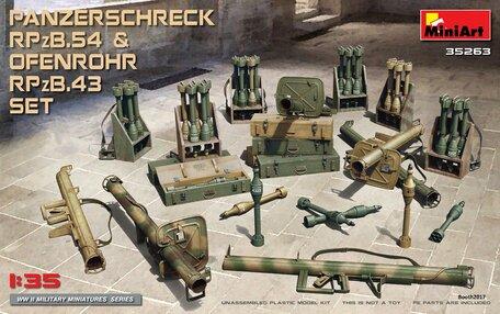 MiniArt Panzerschreck RPzB.54 & Ofenrohr RPzB.43 Set 1:35