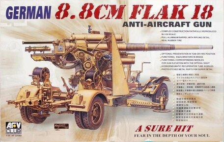 AFV Club German 8.8CM Flak 18 1:35