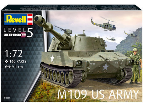 Revell M109 US Army 1:72