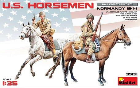 MiniArt U.S. Horsemen 1:35