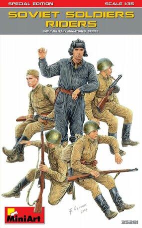 MiniArt Soviet Soldiers Riders 1:35