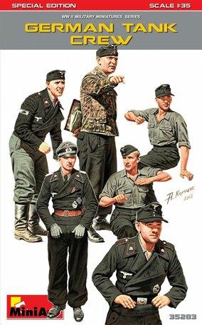 MiniArt German Tank Crew 1:35