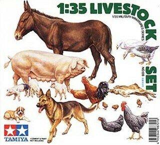 Tamiya Livestock Set 1:35