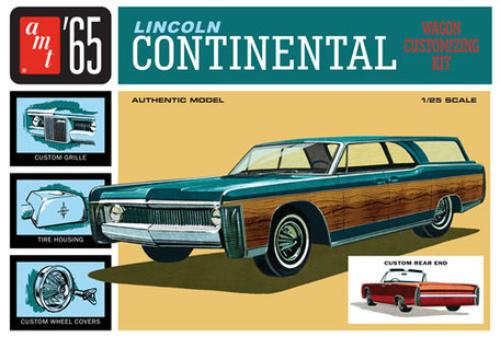 AMT '65 Lincoln Continental 1:25