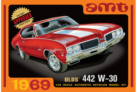 AMT 1969 Olds 442 W-30 1:25