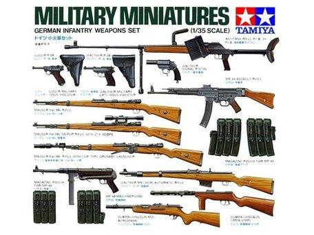 Tamiya German Infantry Weapons Set 1:35