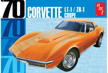 AMT 1970 Chevy Corvette Coupe 1:25