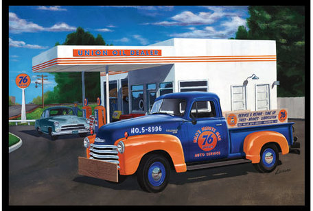 AMT 1950 Chevy Pickup (Union 76) 1:25