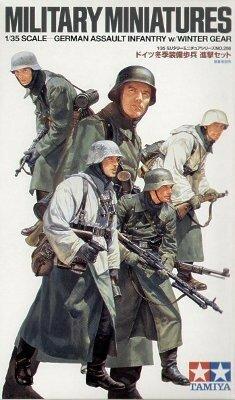 Tamiya German Assault Infantry Winter Gear 1:35