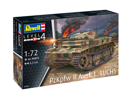 Revell PzKpfw II Ausf.L LUCHS 1:72